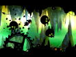 OMG so much going on my brain might explode! Screenshot from Badland by Frogmind game.